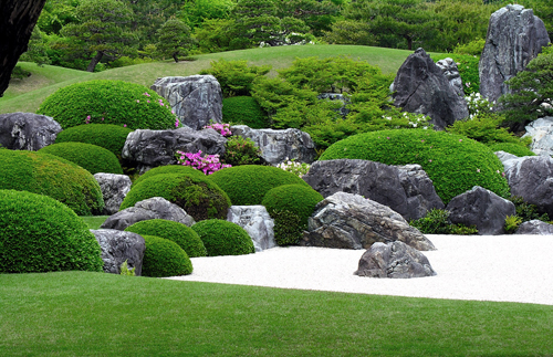 Karesansui meaning dry garden in Japanese is better known in the West as