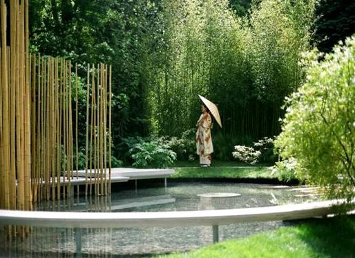 Modern japanese garden design taste of japan for Japanese garden architecture